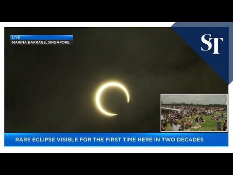 'Ring of Fire' Annular Solar Eclipse