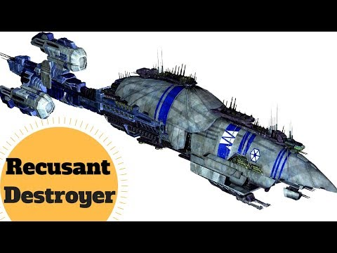 IN-DEPTH BREAKDOWN -  Recusant-class light destroyer -CIS Capital Ship - Star Wars Ships Explained