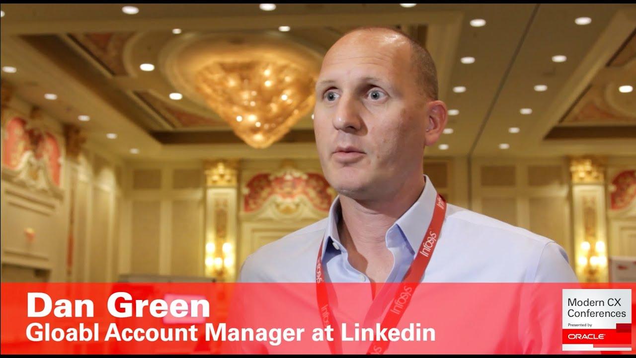 dan green global account manager linkedin customer experience - Global Account Manager