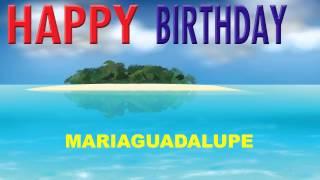 MariaGuadalupe   Card Tarjeta - Happy Birthday