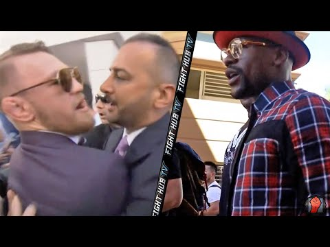 Thumbnail: CONOR MCGREGOR GETS INTO SCUFFLE WITH FLOYD MAYWEATHER & TEAM
