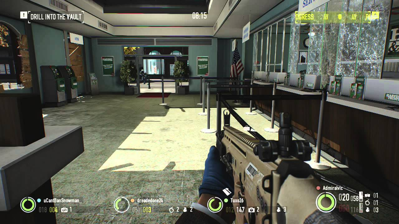Payday 2: Crimewave Edition (PS4) - Hands On Gameplay ...