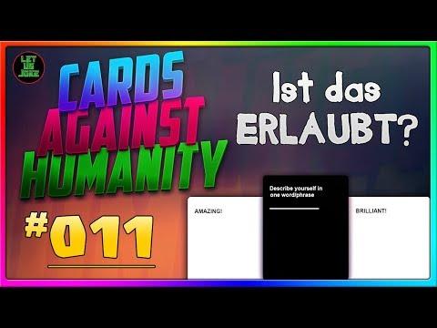 Cards Against Humanity [#011] Rassismus LEGALISIEREN?! :D [HD]
