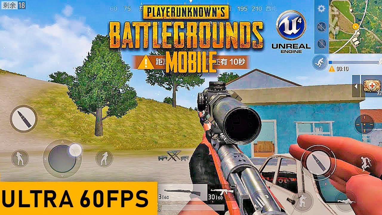 JOGUEI PUBG MOBILE ULTRA HD 60fps No PC!