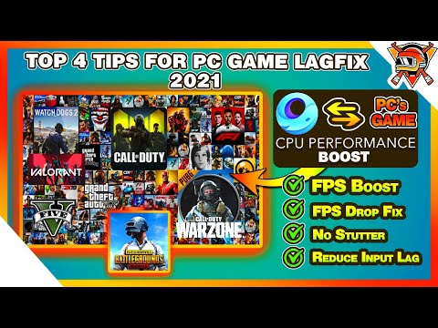 Top 4 Tips For PC Game LAG FIX 2021 | PUBG Mobile & Gameloop LagFix | FPS BOOST | REDUCE INPUT LAG thumbnail