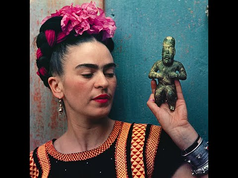 Frida Kahlo brief biography and paintings/ great for kids and esl ...
