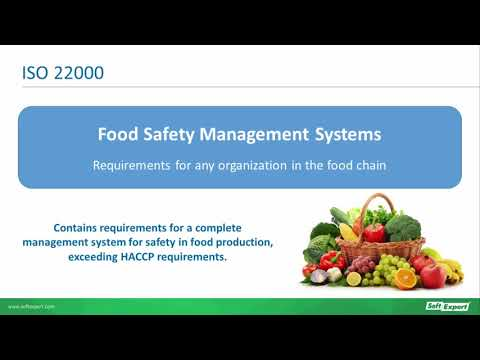 Understanding food safety under ISO 22000 | Webinar | SoftExpert