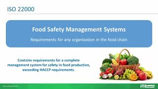 Quality and safety are essential attributes for companies across the food beverage production chain, but demonstrating commitment to producing safe ...