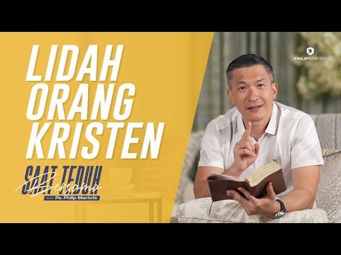 Saat Teduh Bersama - LIDAH ORANG KRISTEN   16 Januari 2021 (Official Philip Mantofa)