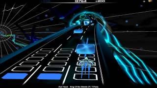 (Audiosurf) Ace Hood - King Of the Streets Feat. T-Pain, 100% Clean, MONO Pro, Iron Mode