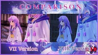 Megadimension Neptunia VIIR VS VII Graphical & Battle System Comparison [English, PS4, PS4 Pro]