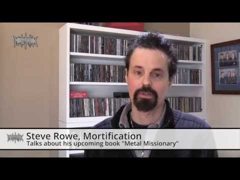 "Steve Rowe from Mortification talks about ""Metal Missionary"""