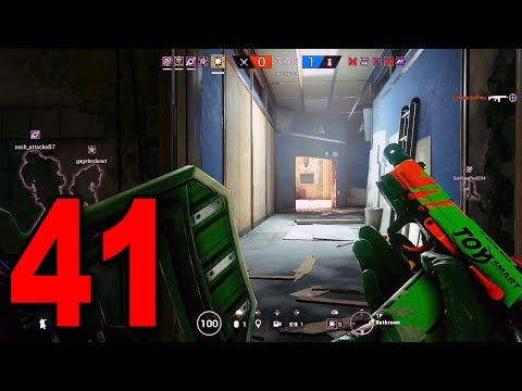 Rainbow Six Siege - Part 41 - FIRST TIME WITH A RIOT SHIELD
