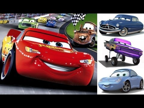 Cars 1 - Disney - Pixar - Lightning McQueen - Mater - The Cars Part 1 (Videogame - Gameplay)