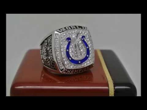 Indianapolis Colts 2006 NFL Super Bowl XLVI Championship Ring