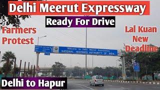 Delhi Meerut Expressway Drive