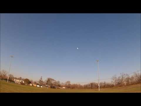 1000mm Hacker Hotwing 1000 Greg006 and new Taranis maiden flight