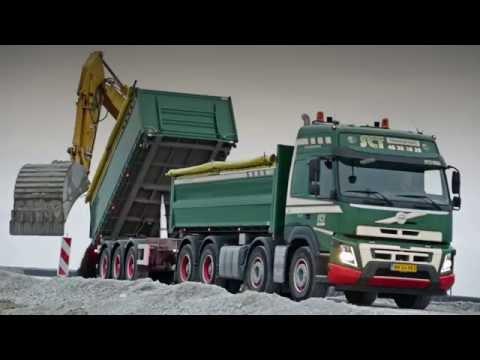 Volvo Trucks - A Volvo FMX 3-way tipper truck, building Copenhagen's new metro line