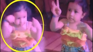 MS Dhoni's Daughter Ziva Dhoni's DANCE At A Wedding - Video