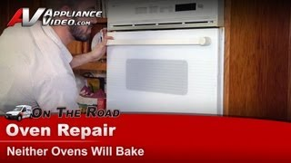 Whirlpool Wall Oven Repair - Neither Ovens Will Bake - WW2780W