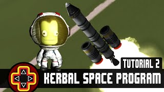 Kerbal Space Program Tutorial 2 - Getting into orbit and earning science points