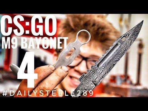 CS:GO DAMASCUS M9 BAYONET: Part 4