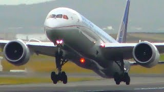 10 EPIC Boeing 787 Dreamliner CLOSE UP Takeoffs | Sydney Airport Plane Spotting
