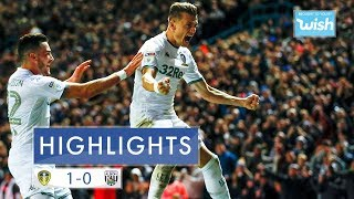 Highlights | Leeds United 1-0 West Bromwich Albion | 2019/20 EFL Championship