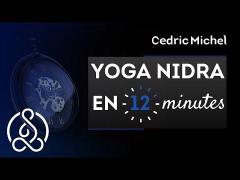 YOGA NIDRA en 12 minutes - Relaxation très Profonde - Méditation guidée en français🌼 Cédric Michel