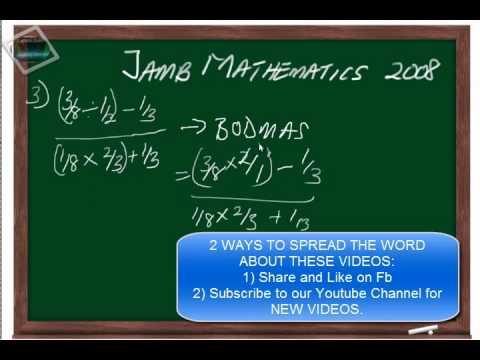 (www.jamb.org.ng) Jamb Maths Past Question And Answer  2008 Qn3