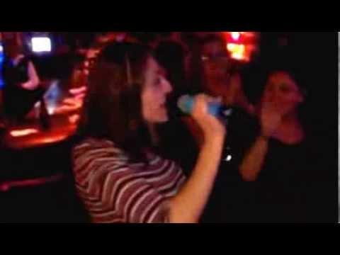 Carolina Singing Material Girl by Madonna Karaoke at the Venice Room!!! Rock On!!!