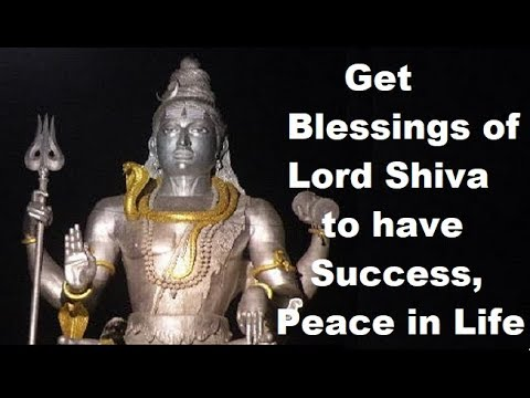 Get Blessings of Lord Shiva to have Success, Peace in Life | Hindi | |  हिंदी |