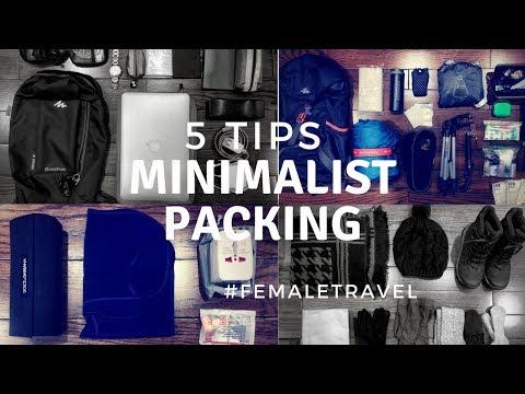 MINIMALIST PACKING | 5 TIPS FOR FEMALE SOLO TRAVELER | NEW ZEALAND TRAVEL