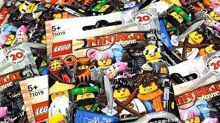 The LEGO Ninjago Movie minifigures ЛЕГО Ниндзяго Фильм Обзор