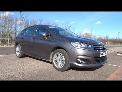 Фото к видео: 2015 Citroën C4 1.6 BlueHDi 120 S&S Flair Start-Up and Full Vehicle Tour