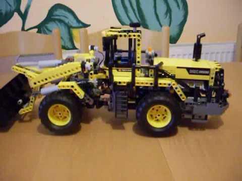 The new 8265 LEGO Technic motorized with set 8293 - YouTube