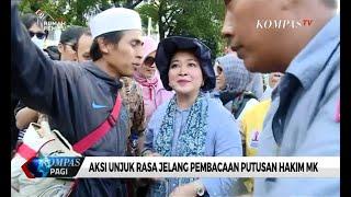 Gambar cover Aksi Unjuk Rasa Jelang Putusan MK, Titiek Soeharto Hingga PA 212 Terlihat Hadir