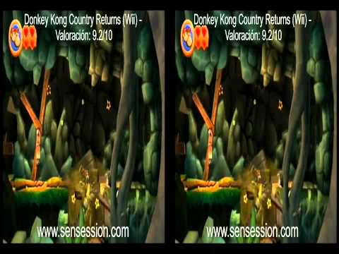 Donkey Kong Country Returns 3D analisis review