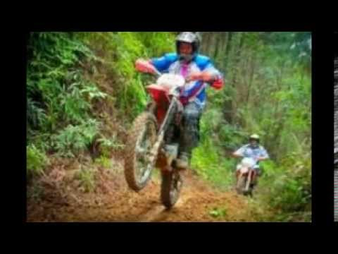 MOTOS DE TRILHA Travel Video
