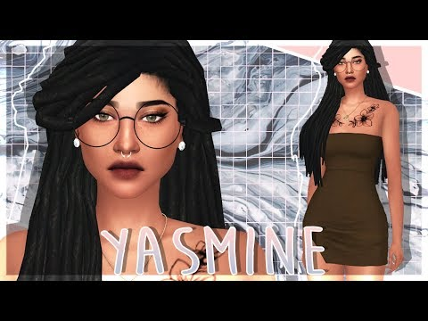 The Sims 4 CAS: Yasmine   FULL CC LIST & SIM DOWNLOAD