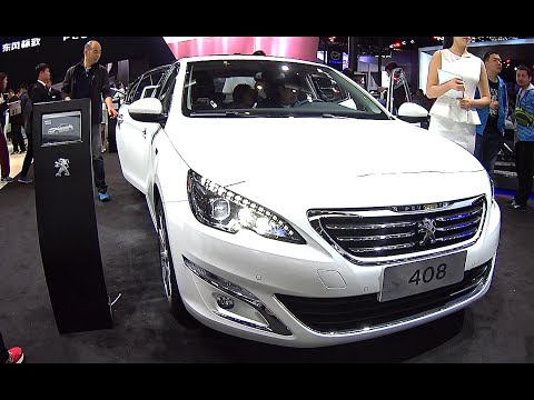 2016, 2017 new peugeot 408 launched on the chinese auto market