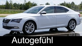 Skoda Superb Safety & Comfort Systems/Features test - Autogefühl