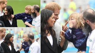 Little boy touched Meghan