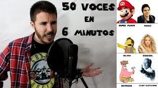 50 IMITACIONES DE FAMOSOS EN 6 MINUTOS