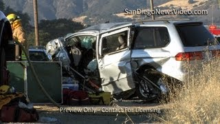2 Children, 2 Adults Killed In Head-On Collison, Santa Ysabel