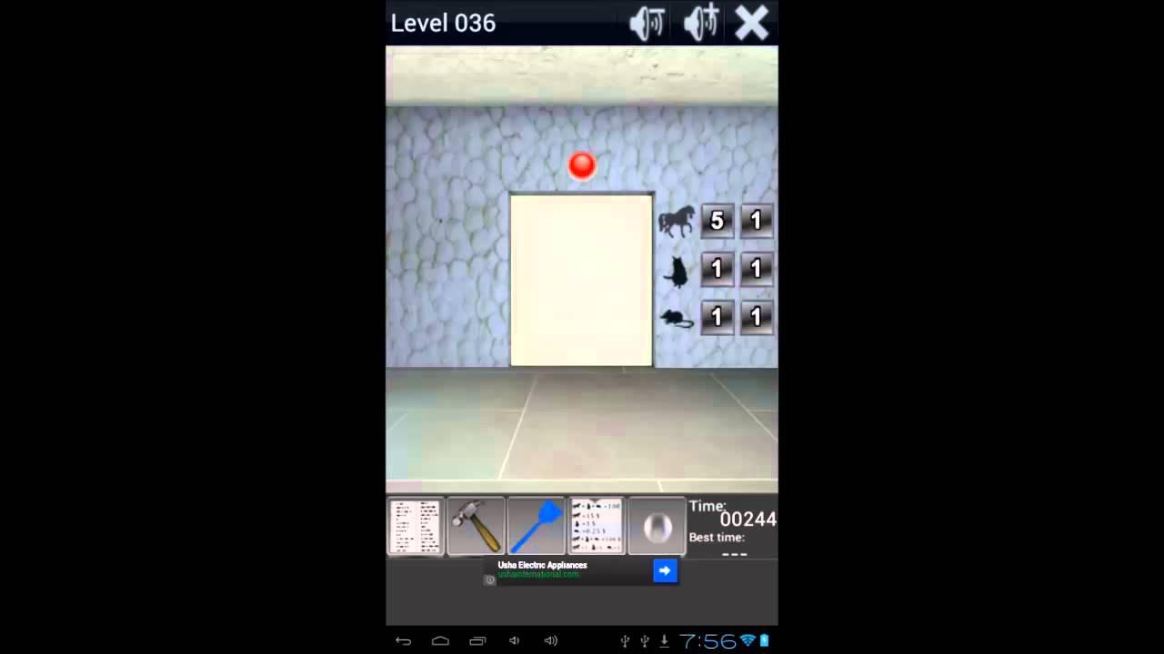 100 Doors Remix Level 36 Walkthrough & 100 Doors Remix Level 36 Walkthrough - YouTube