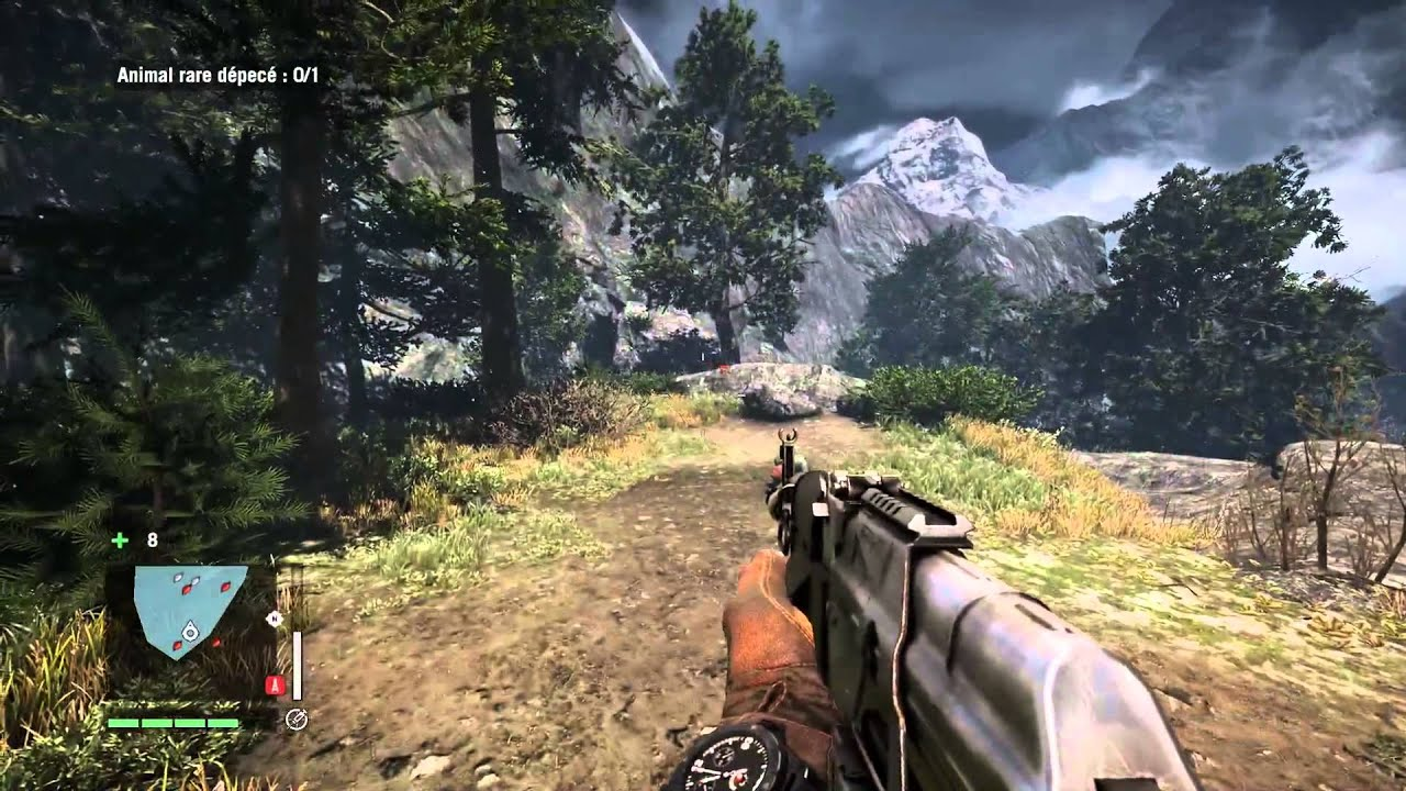 how to get snow leopard far cry 4