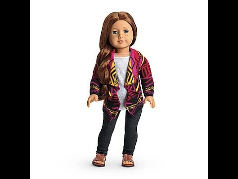 Opening A Package From American Girl! Saige's Sweater's Outfit! Plus Review!