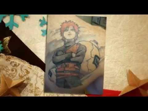 Naruto Tattoo Motive