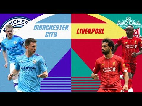 Liverpool Vs Man City | 4-0 | Premiere League | 2 July ...
